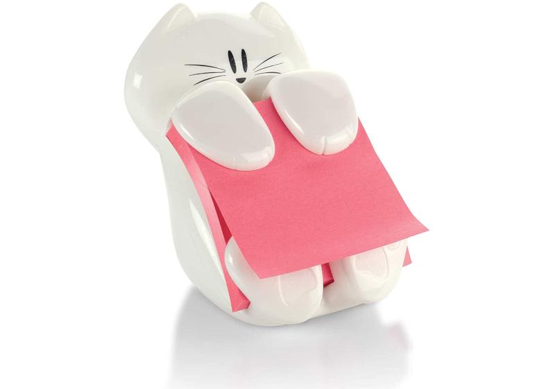 cat post-it note dispenser
