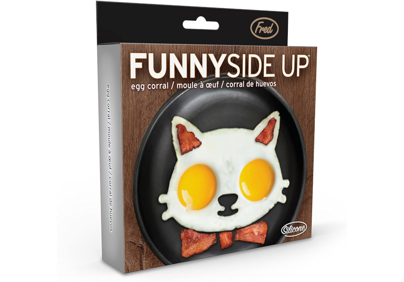 silicone egg mold cat