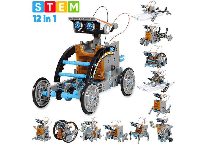 solar robot toy