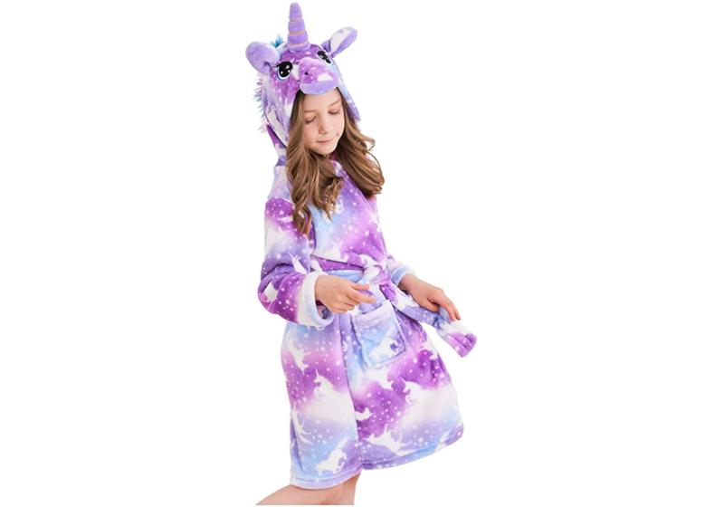 unicorn bathrobe