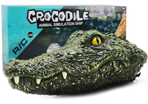 remote control alligator head