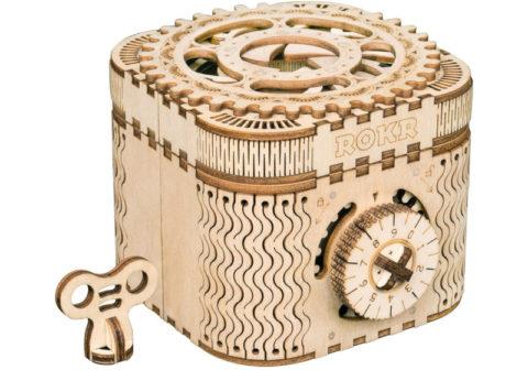 wooden puzzle treasure box
